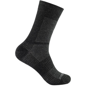 Wrightsock Coolmesh II Merino Crew-sukat, grey/black